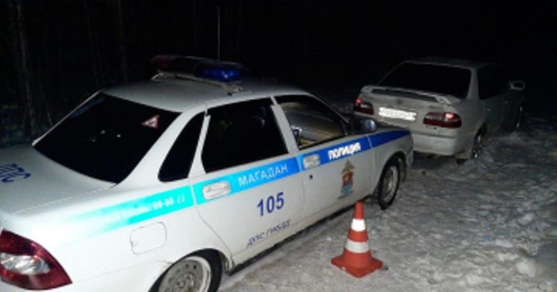 Пьяный водитель пытался скрыться от погони в Магадане