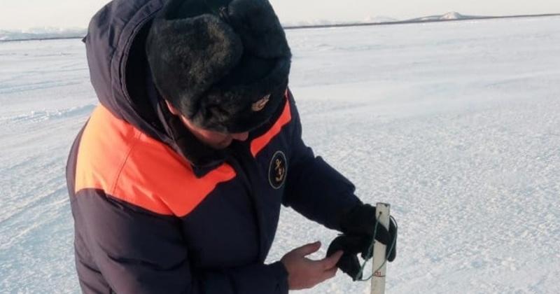 Грузоподъемность ледовой переправы через реку Яна увеличена до 20 тонн