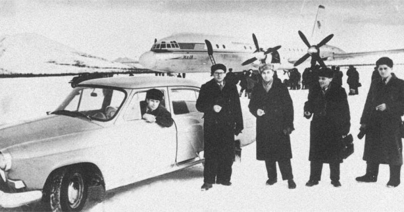 Регулярного воздушное сообщение  Москва – Магадан – Москва через северные порты страны открылось 59 лет назад