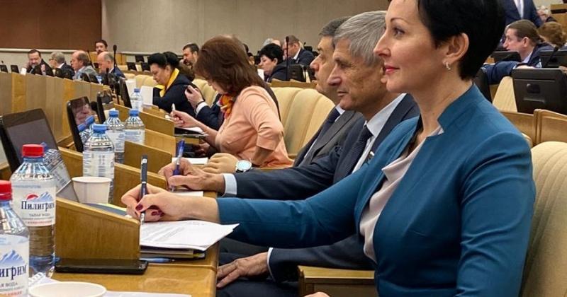 Круг своих первоочередных задач очертила депутат Госдумы Оксана Бондарь