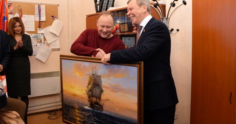 Сергей Абрамов встретился с творческими коллективами медиахолдингов «Колыма» и «Вечерний Магадан»