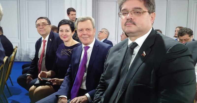Сергей Абрамов: Нам предстоит разработать новые законы для реализации задач, обозначенных в Послании Президента