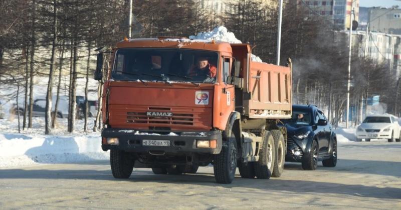 Сегодня в Магадане в связи дорожными работами ограничат движение на Портовой с 9.00 до 18.00