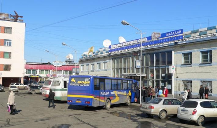 Здание автовокзала в Магадане покрасят, заменят окна и отремонтируют электрику