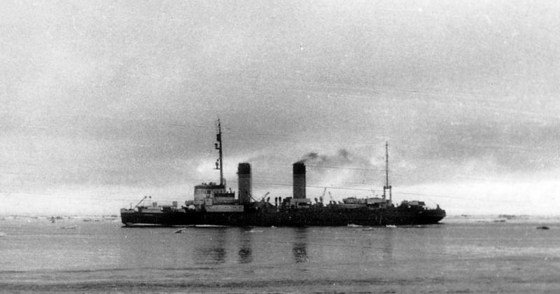 24 января 1947 года  в бухту Нагаева в Магадане прибыл флагманский ледокол арктического пароходства Главсевморпути «Анастас Микоян»