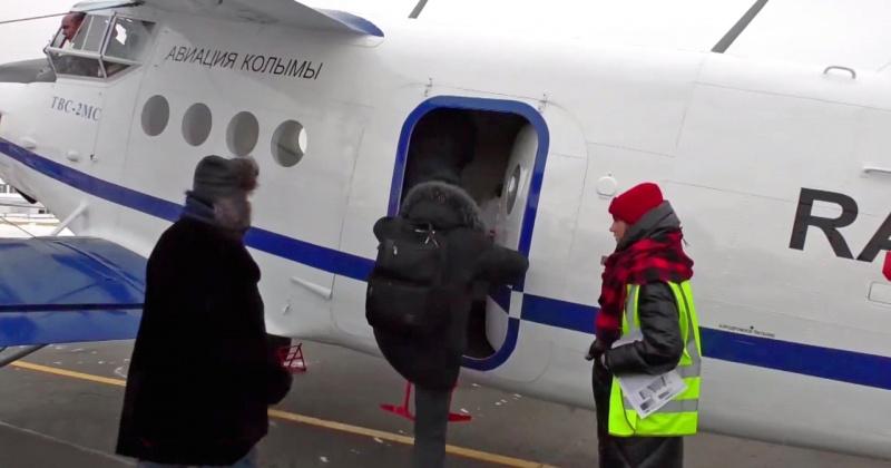 Новый самолет ТВС-2МС совершил первый рейс с пассажирами из Магадана в Сеймчан