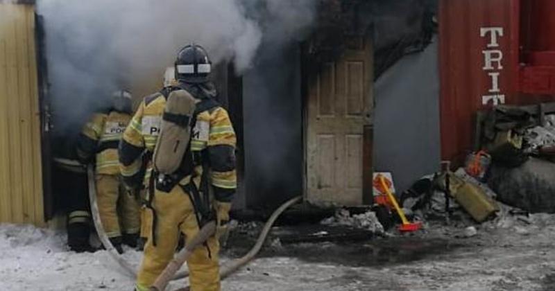 За выходные пожарные в Магадане ликвидировали семь техногенных пожаров