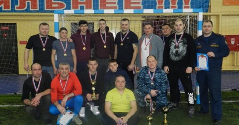 Конвоиры Магадана выиграли турнир УФСИН по мини-футболу