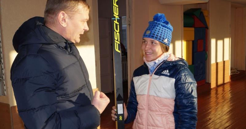 Воспитанница олимпийской школы по лыжным гонкам им.Е.Вяльбе примет участие во Всероссийской спартакиаде учащихся