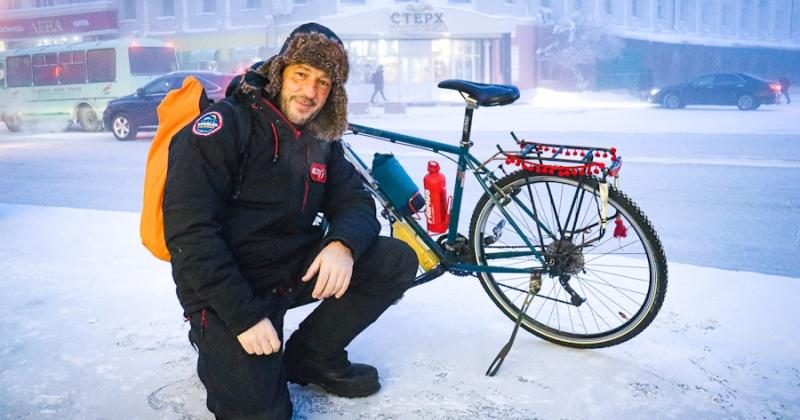 Путешествующий от Магадана до Иркутска испанец проедет 700 км на поезде