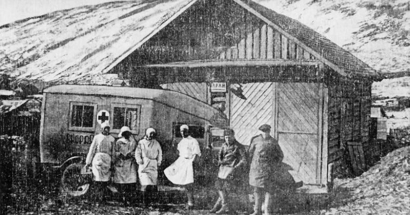 Санитарный отдел Дальстроя был организован в Магадане 88 лет назад