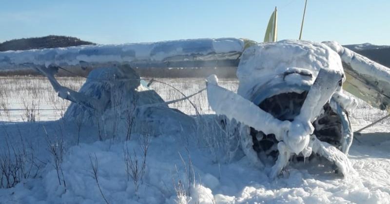 Совершивший падение в Магадане самолет принадлежит частной компании