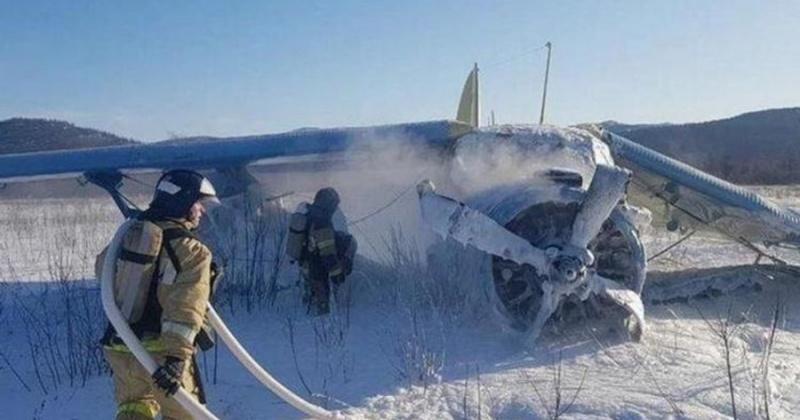 Минздрав Колымыи: 9 пассажиров упавшего в Магадане самолета Ан-2 отпущены домой после обследования