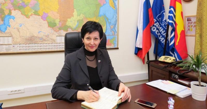 Депутат Госдумы Оксана Бондарь с 24 февраля будет работать в формате региональной недели