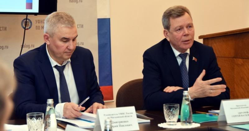 Сергей Абрамов: Я благодарю налоговые органы Колымы за эффективное наполнение нашей казны, взаимодействие с налогоплательщиками