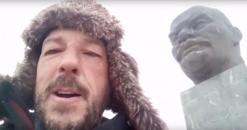 Испанский путешественник, едущий из Магадана в Иркутск на велосипеде, добрался до Улан-Удэ