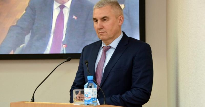 Председателем Контрольно-счетной палаты Магаданской области назначен Юрий Дмитриенко