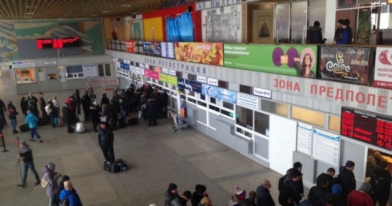 Теплей станет в аэропорту Магадана