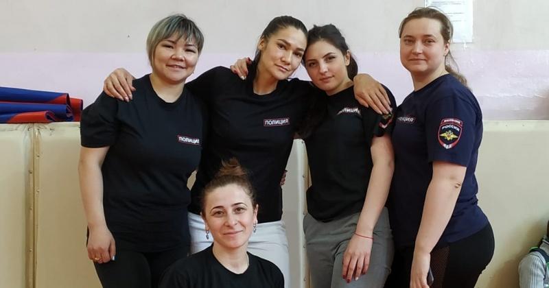 Сборная Омсукчанского отделения полиции стала победителем окружных соревнований, посвященных Международному женскому дню