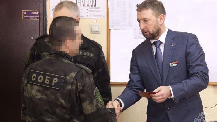 Ряды «Боевого братства» пополнили колымские росгвардейцы в Магадане