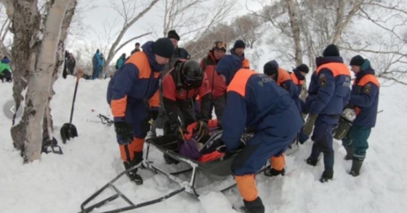 Житель Магадана погиб под лавиной