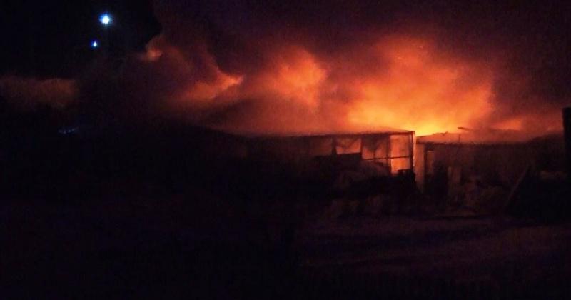 Пожарные Магадана ликвидировали загорание частного дома в пос.Ола