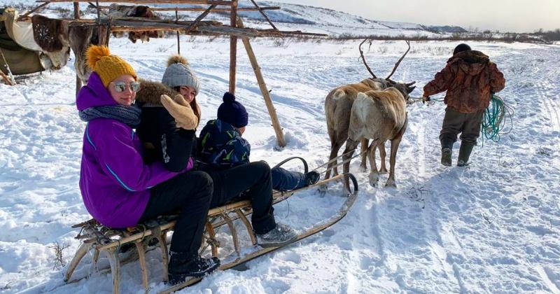 Юные жители Эвенска одни из первых посетили новое «Этностойбище»