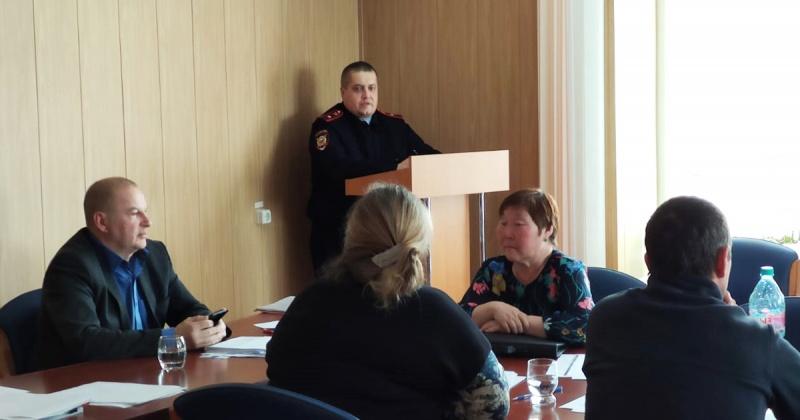 В самом отдаленном округе Колымы полицейские отчитались о своей работе