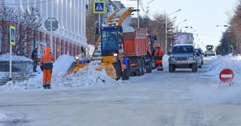 В Магадане сегодня перекрыты улицы Коммуны, Билибина, Нагаевская и Потапова