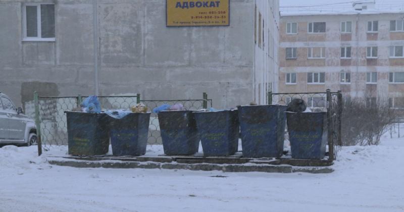 К вечеру 2 апреля весь мусор с контейнерных площадок Магадана должен быть вывезен