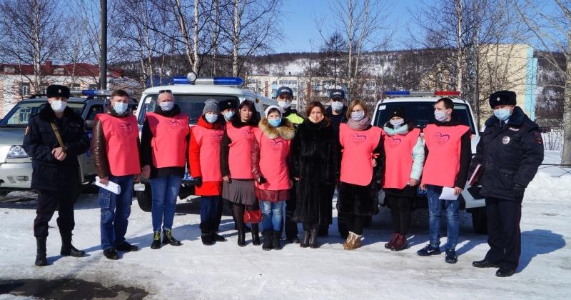 Волонтеры Хасынского округа в режиме помощи землякам возрастной категории «65+»