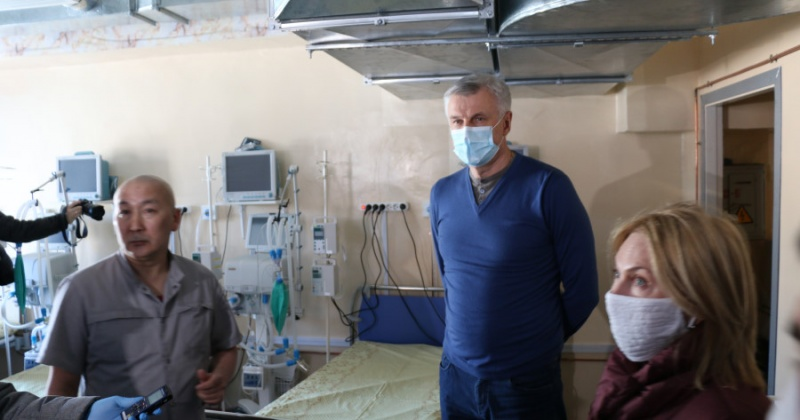 Инфекционная больница в Магадане готова к приему пациентов (Видео)