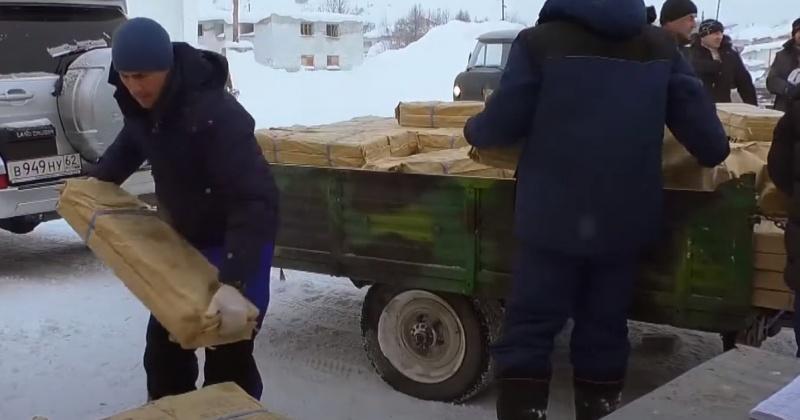 Рыбу и красную икру получила общественная организация КМНС «Буксунда» в Магаданской области