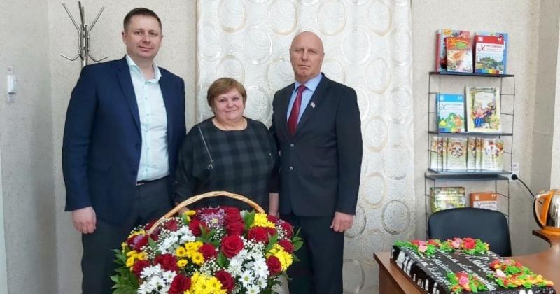 Юбилей празднует заведующая детским садом села Клепка, ольский депутат Людмила Насонова