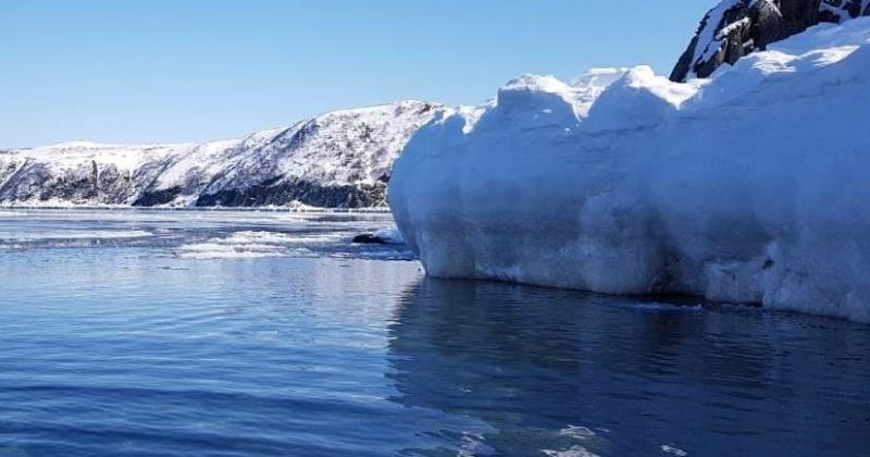 В бухте Нагаева в Магадане возможен разлом ледового припая