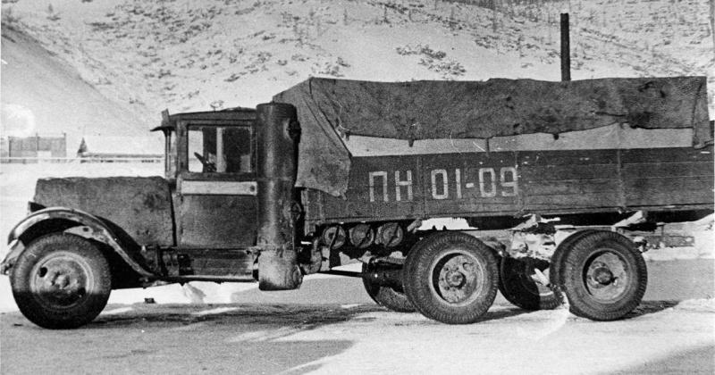 Автопробег газогенераторных автомобилей по маршруту Мякит – Магадан – Мякит состоялся 82 года назад