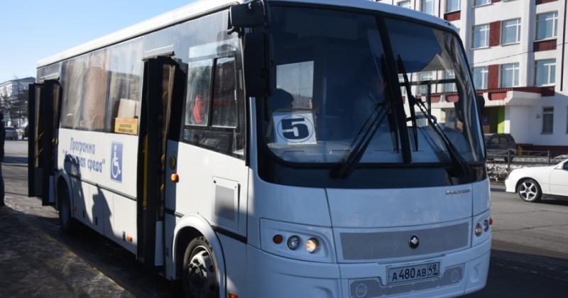 В праздничные дни городские автобусы в Магадане будут ходить по временному расписанию