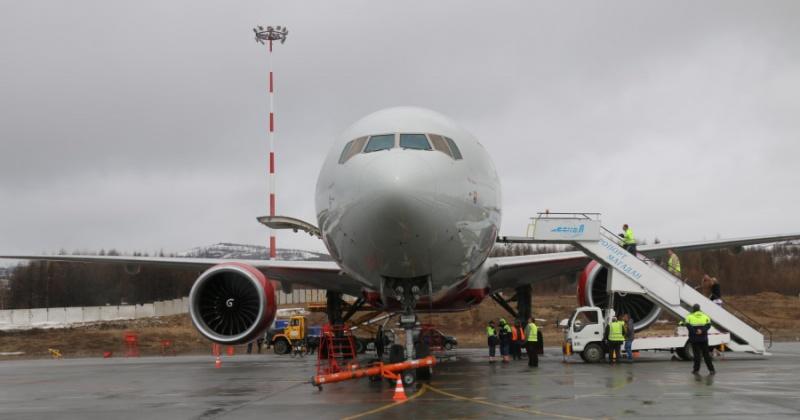 """Компания """"Аэрофлот"""" полностью приостановила возврат билетов в Магадане"""