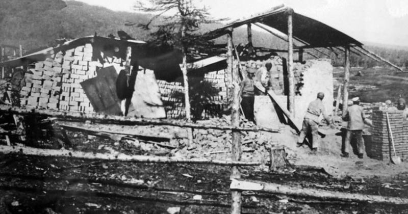 «Глинобитный городок»  начали строить в Магадане 87 лет назад