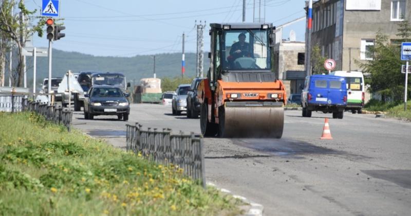 В Магадане начинается дорожный ремонт