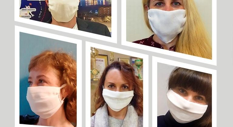 Итоги городского конкурса «Моя маска – моя защита», объявленного в апреле, подвели в мэрии Магадана