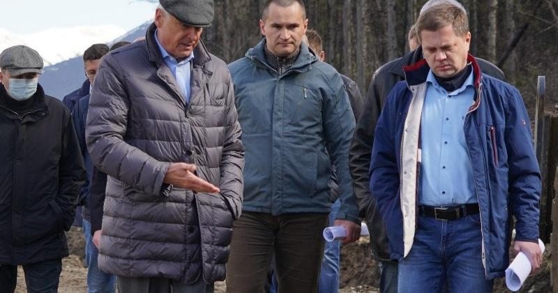 Губернатор Сергей Носов поручил обеспечить бесперебойный проезд транспорта на поврежденном участке «Палатка-Кулу-Нексикан»