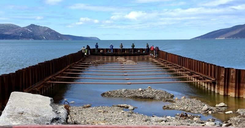 Пирс в Нагаевской бухте в Магадане введут в эксплуатацию осенью