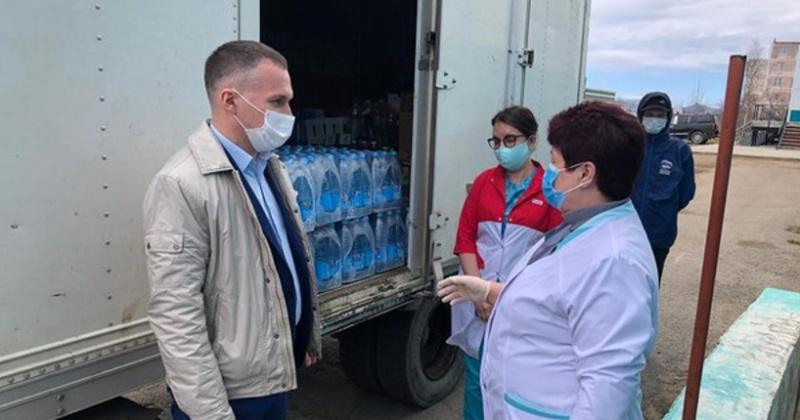 Николай Ярощук помог детской областной больнице в Магадане, которая лечит пациентов с коронавирусом