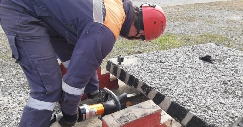Спасатели Магадана подтвердили высокий уровень профессиональной и физической подготовки