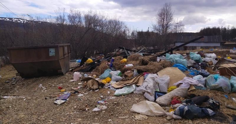 Свалку мусора в микрорайоне авиаторов в Магадане уберут в ближайшее время