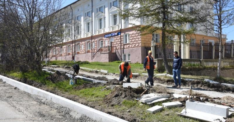 Почти два месяца  будет перекрыт участок улицы Парковой от Гагарина до проспекта Карла Маркса в Магадане