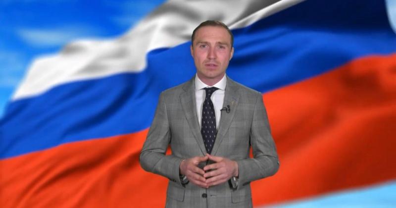 Антон Басанский поздравил колымчан с Днем России