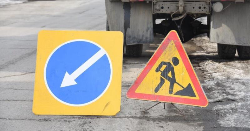 В связи с дорожными работами сегодня в Магадане будет перекрыто движение автотранспорта на улицах Парковой и Дзержинского