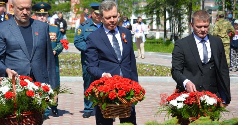 В Магадане почтили память павших в Великой Отечественной войне